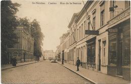 Sint-Niklaas -  St.-Nicolas  *  Casino - Rue De La Station - Sint-Niklaas