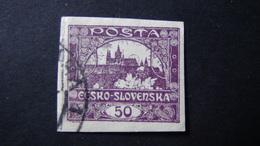Czechoslovakia - 1919 - Mi:CS 19, Sn:CS 30, Yt:CS 15 Used - Look Scan - Tschechoslowakei/CSSR