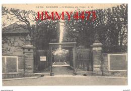 CPA - SCEAUX - L'Entré Du Parc En 1915 - 92 Hauts De Seine - N° 3876 - Edit. E. Malcuit - Sceaux