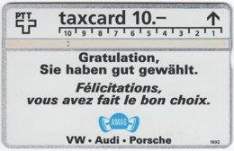 SWITZERLAND C-648 Hologram Private - Advertising, Traffic, Car, VW, Audi, Porsche - 206L - Used - Suisse
