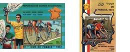 Ref. 70858 * MNH * - EQUATORIAL GUINEA. 1973. FRANCE CYCLING TOUR . VUELTA CICLISTA A FRANCIA - Äquatorial-Guinea