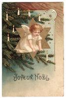 Carte Fantaisie - ANGE - SAPIN DE NOEL - CHRISTMAS TREE - ANGEL - Joyeux Noël - Engel