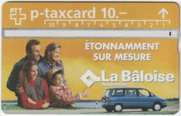 SWITZERLAND C-683 Hologram Private - People, Family, Traffic, Car - 602L - Used - Suisse