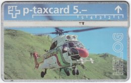 SWITZERLAND C-694 Hologram Private - Traffic, Helicopter - 411L - Used - Suisse