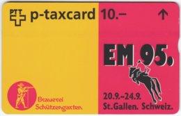 SWITZERLAND C-700 Hologram Private - Cartoon, Animal, Horse - 506L - Used - Suisse