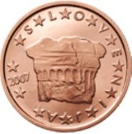 Slovenie 2007   2 Cent    UNC Uit De Rol  UNC Du Rouleaux  !! - Slovénie