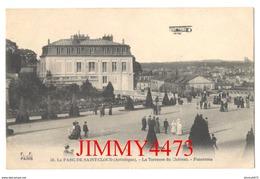 CPA - Le PARC DE SAINT CLOUD - La Terrasse Du Château, Bien Animée En 1914 - 92 Hauts De Seine - N° 56 - Ed. F. F. Paris - Saint Cloud