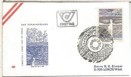 AUSTRIA FDC 1977 HUTTER ARTE - Arte