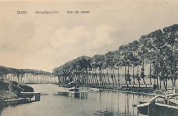 CPA - Pays-Bas - Sluis - Kanaalgezicht - Sluis