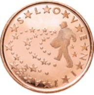 Slovenie 2007   5 Cent    UNC Uit De Rol  UNC Du Rouleaux  !! - Slovénie