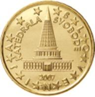 Slovenie 2007   10 Cent    UNC Uit De Rol  UNC Du Rouleaux  !! - Slovénie