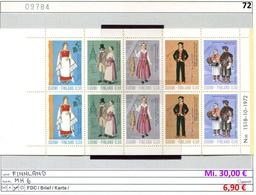 Finnland - Finland - Suomi - Finlande - Michel MH / Carnet / Booklet 6 - ** Mnh Neuf Postfris - - Ungebraucht