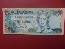 BAHAMAS 1/2$ 2001 PEU CIRCULER (B.6) - Bahamas