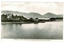 Ref 1324 - Postcard Dingwall & Sugarloaf Mountain Cape Breton - Nova Scotia Canada - Nova Scotia