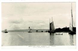Ref 1324 - Postcard Bras D'or Lakes Lighthouse - Baddeck Cape Breton - Nova Scotia Canada - Nova Scotia