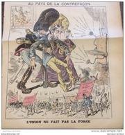 1886 Journal Satirique LE GRELOT - AU PAYS DE LA CONTREFAÇON - BELGIQUE - VIVE LA COMMUNE - TELEPHONE - Journaux - Quotidiens