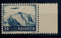 SVIZZERA SWITZERLAND SUISSE SCHWEIZ 1948 Air Mail Mi. 506 507 ** MNH UNIF.A42 A43 - Nuovi