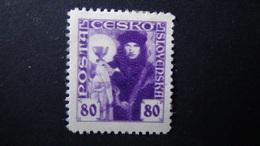 Czechoslovakia - 1920 - Mi:CS 181, Sn:CS 74, Yt:CS 170*MN - Look Scan - Ungebraucht