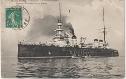 """Bateaux :  Guerre , Marine  """"  Léon  Gambetta """"   Croiseur   Cuirassé De 1 Er  Classe - Guerra"""