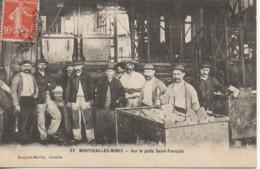 71 MONTCEAU-les-MINES  Sur Le Puits St-François - Montceau Les Mines