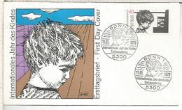 ALEMANIA FDC 1979 AÑO INTERNACIONAL DEL NIÑO CHILDREN YEAR - Infancia & Juventud