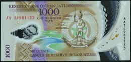 VANUATU - 1.000 Vatu 2014 {Prefix AA} {Polymer} UNC P.13 - Vanuatu