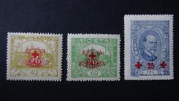 Czechoslovakia - 1920 - Mi:CS 196-8, Sn:CS B130-2, Yt:CS 182-4*MH - Look Scan - Ungebraucht
