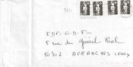 TP N° 2873 En 4 Ex Sur Enveloppe De Fontenay Sous Bois - 1961-....