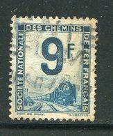 FRANCE- Petits Colis Postaux Y&T N°9- Oblitéré - Paketmarken