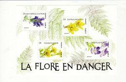 Bloc LA FLORE EN DANGER , Neuf - Mint/Hinged
