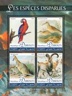 Djibouti   2019 Fauna Extinct Species ,parrot ,bird , Antelope ,kangaroo S201907 - Djibouti (1977-...)