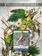 Djibouti   2019 Fauna Extinct Species ,parrot ,birds   S201907 - Djibouti (1977-...)