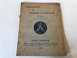 HOUILLIERES Du BASSIN De LORRAINE - Merlebach - 1948 - Sciences