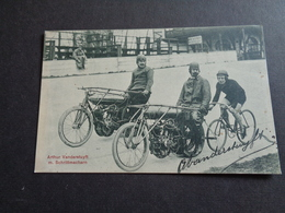 Sport ( 135 )  Renner  Coureur Wielrenner Arthur Vanderstuyft  -  Motocyclette  Moto Schrittmachern - Cyclisme