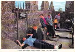 Irlande > Ireland  Cork BLARNEY Kissing The Blarney Stone BLARNEY CASTLE ( Editions : Cardall Dublin 201)*PRIX FIXE - Cork