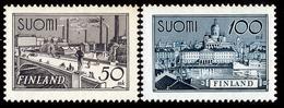 FINLAND 1942 Definitive, MI 259-260**MNH - Nuovi