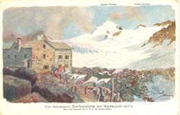 Reisch Schnalsertal Similaunhütte Am Niederjoch - Italia