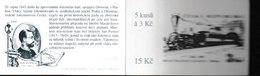 H 262) Tschechien 1995 Mi# 81 (5) Markenheftchen: Eisenbahn 1845 Jan Perner, Lokomotive - Czech Republic