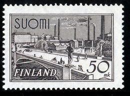 FINLAND 1942 Definitive 50 Mk, MI 259b**MNH - Nuovi