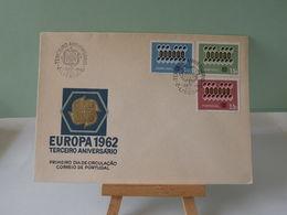Lettre Portugal - Europa CEPT 1982 - Lisboa (Lisbonne) - 17.9.1962 - Coté ..€ - 1910-... República