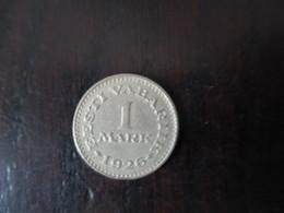 ESTONIA 1 MARK 1926 D-0027 - Estonia