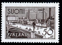 FINLAND 1942 Definitive 50 Mk, MI 259c**MNH - Nuovi