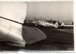 Avion F-BEOH- Pte Photo… C.1947 Aéroport De Nice - Aviation