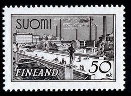 FINLAND 1951 Definitive 50 Mk, MI 259d**MNH - Nuovi