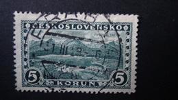 Czechoslovakia - 1927 - Mi:CS 266 Sn:CS 140 Yt:CS 241 Used - Look Scan - Tchécoslovaquie