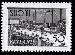 FINLAND 1942 Definitive 50 Mk, MI 259a**MNH - Nuovi