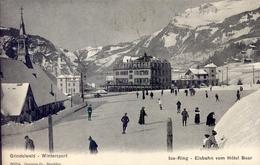 Zwitserland Schweiz Suisse - Grindelwald - Eisbahn Vom Hotel Bear - 1910 - BE Berne