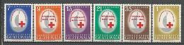 GUATEMALA CROIX ROUGE N° 316 à 321 NEUF** LUXE SANS CHARNIERE / MNH - Guatemala