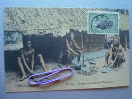 CONGO : Forgerons Chez Les WASNGOLA En 1911 - Congo - Kinshasa (ex Zaire)
