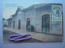CONGO : La Gare De MATADI  En 1911 - Congo - Kinshasa (ex Zaire)